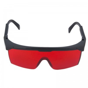 Beskyttelsesbriller til laser, rød, 200-2000 nm