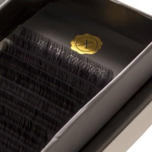Premium Natural Silk Lash D Curl, 13, 0.15 mm