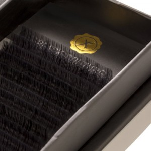 Premium Natural Silk Lash D Curl, 16, 0.15 mm