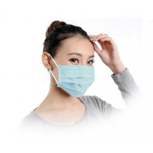 Mundbind - Latex free Surgical Mask, 10 stk, Hvid