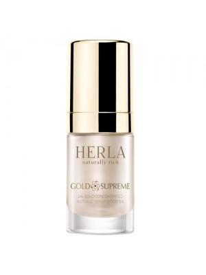 Gold Supreme 24K Gold Concentrated Anti-Age Serum Booster, HERLA, 15 ml