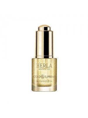 Gold Supreme 24k Gold Face Dry Oil, HERLA, 15 ml