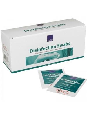 Desinfektionsserviet, Abena, 85% ethanol, 2% Glycerin, 50 stk