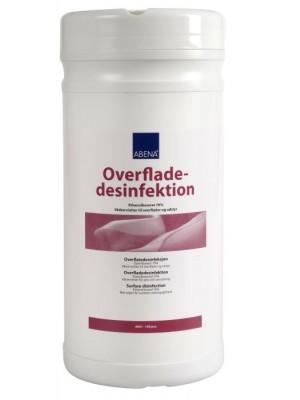 Desinfekationsserviet, Abena, 70% alkohol, 150 stk