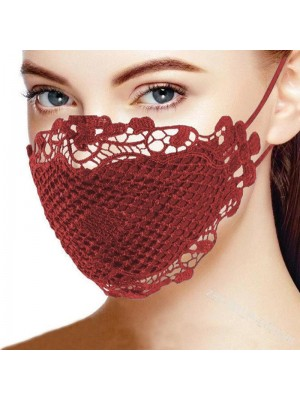 Blondemaske, rød