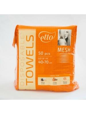 Engangs håndklæder, Etto, Mesh, 50 stk