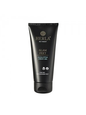 Glam Feet Eucalyptus Cream Gel, HERLA, 200 ml