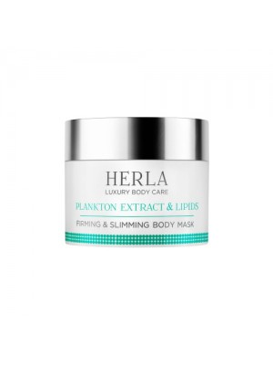 Plankton Extract & Lipids Firming & Slimming Body Mask, HERLA Luxery Body Care, 200 ml