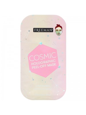 Cosmic Holographic Peel-Off Mask, Luminizing Rose Quartz, 10 ml, Freeman Beauty