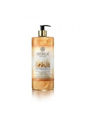 Pureperfection Exclusive Gold Body Massage Oil, HERLA, 1000 ml