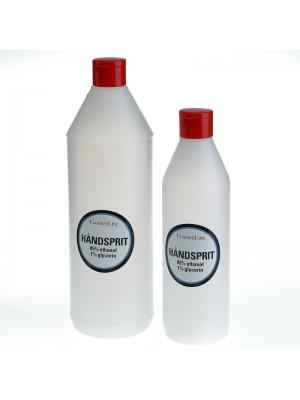 Håndsprit 85% ethanol, 1% glycerin, 500 ml, CosmetiLine