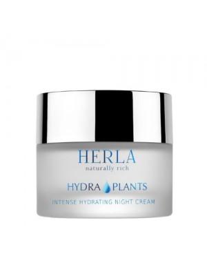 Hydra Plants Intense Hydrating Night Cream, HERLA, 50 ml