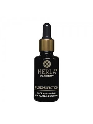 Pureperfection Jojoba + Stoechiol Anti-Age Face Massage Oil, HERLA, 30 ml