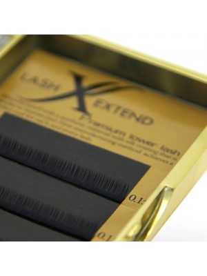 Lower Lashes, C Curl, 5-6 mm, 0.15-0.20 mm