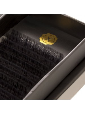 Premium Natural Silk Lash D Curl, 6-14, 0.15 mm