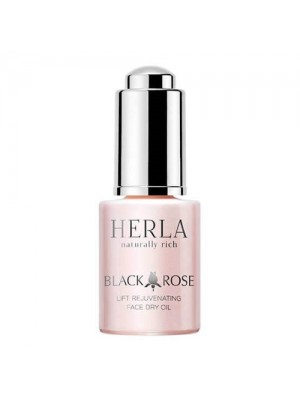 Black Rose Lift Rejuvenating Face Dry Oil, HERLA, 15 ml