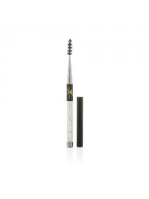 Luxury Swarovski Mascara Brush, Sølv/Sort, Lash eXtend