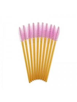 Lash eXtend Mascara Brushes, Guld/Pink 10 stk.