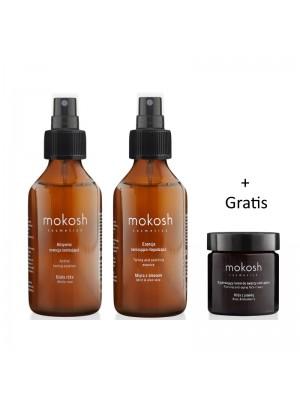 Mokosh kampagne: Active Toning Essence + Toning & Soothing Essence + Gratis Firming Face Cream
