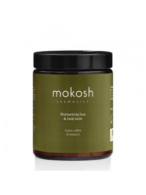Moisturizing Face & Body Balm Green Coffee & Tobacco, 180 ml, Mokosh