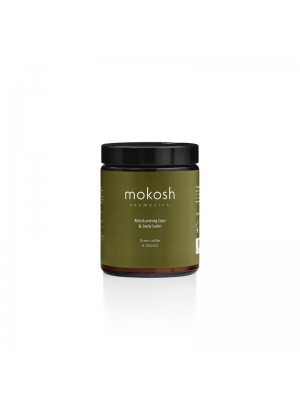 Moisturizing Face & Body Balm Green Coffee & Tobacco, 180 ml, Mokosh