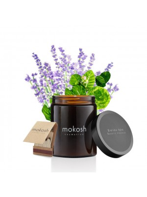 Plant Soy Candle, Bucolic Meadow, Duftlys med duft af blomstereng, Mokosh
