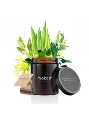 Plant Soy Candle, Mediterranean Grove, Duftlys med duft af Middelhavet, Mokosh