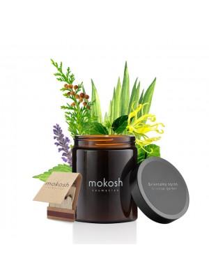 Plant Soy Candle, Oriental Garden, Duftlys med duft af Orientalsk have, Mokosh
