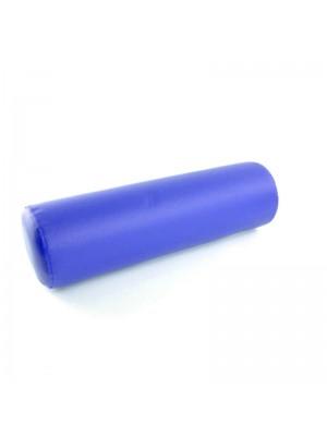 Behandlerpude, rund, blå