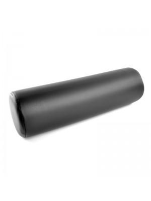 Pude til massagebriks, rund, sort, 50 cm