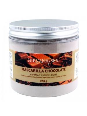 Nirvana Spa Chocolate Mask, Chokolade Peel-off maske, 250 gram