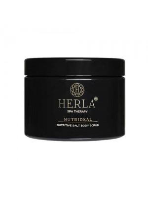 Nutrideal Nutritive Salt Body Scrub, HERLA, 300 g