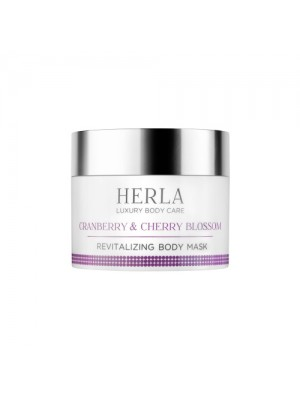 Cranberry & Cherry Blossom Body Mask, HERLA Luxury Body Care, 200 ml