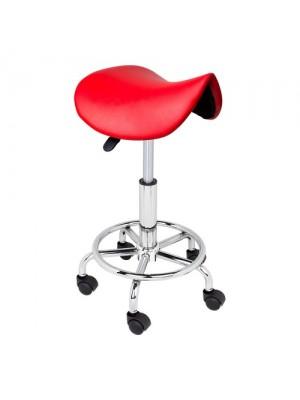 Sadelstol, rød