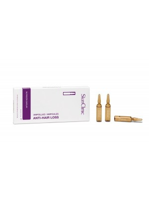 SkinClinic Anti-hair Loss Ampoules, 10x 5 ml