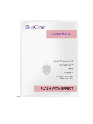 SkinClinic Biocelmask Flash Wow Effect, 1 stk