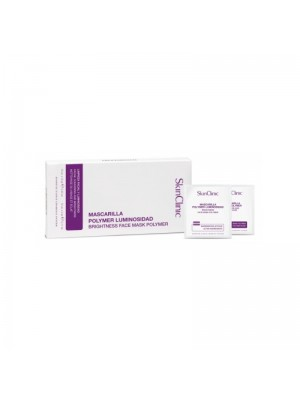 SkinClinic Brightness Face Mask Polymer, Peel-off maske, 10 stk