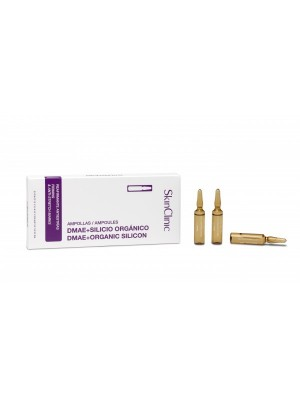 SkinClinic DMAE+Organic Silicon Ampoules, 10 x 5 ml