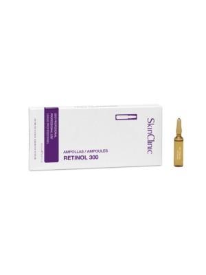 SkinClinic Retinol 300 Ampoules, 10 x 2 ml