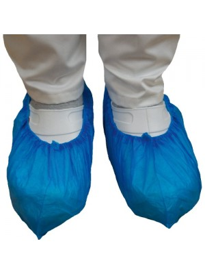 Skoovertræk, blå, 100 stk