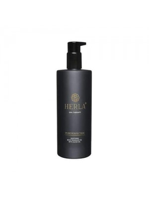 Pureperfection Soothing Olive Body Massage Oil, HERLA, 400 ml