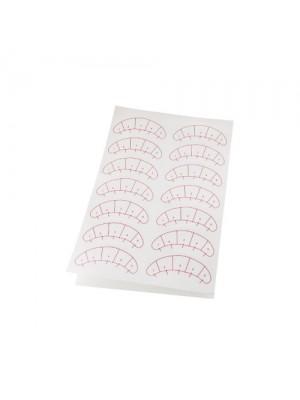 Sticker Pads med zonemarkering