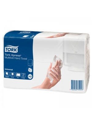 Håndklædeark, Tork Xpress, 2 lags, 190 ark