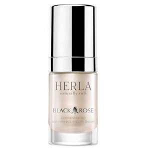Black Rose Concentrated Anti-Wrinkle Eye Lift Cream, HERLA, 15 ml