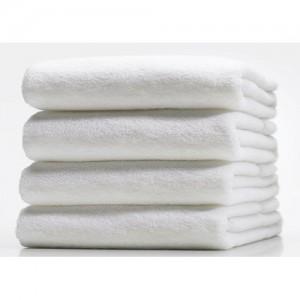 Håndklæde, hvidt, 65x40 cm