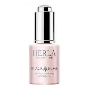 Black Rose Lift Rejuvenating Face Dry Oil, HERLA, 15 ml