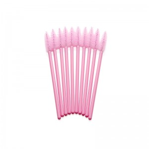 Lash eXtend Mascara Brushes, pink/pink, 10 stk.