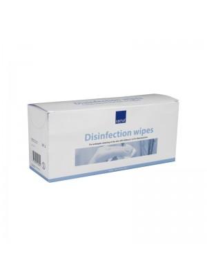 Desinfektionsserviet, Abena, 85% ethanol, 0,5% klorhexidin, 50 stk