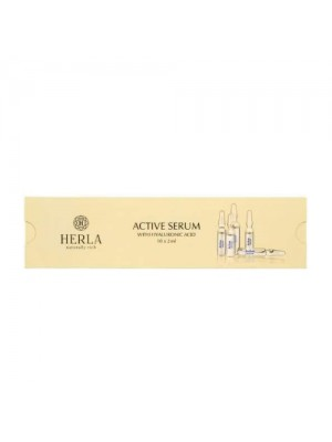 Active Serum with Hyaluronic Acid, 10x2 ml, Herla