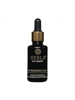 Pureperfection African Baobab + Phytosqualan Face Massage Oil, Herla